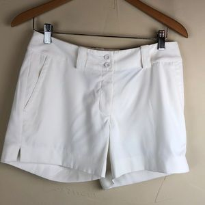 Nike Golf Tour Performance white shorts